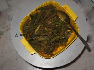 Bhindi South Indian Style