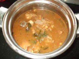 Chicken Pulikulambu