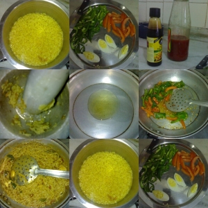 EggVeg Ginger Garlic Maggie Noodles