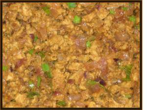 Chicken kheema