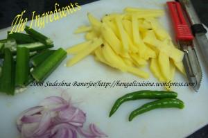 alu-bhendi-fry-ingredients